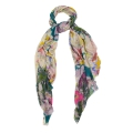 Large Cashmere Modal Floral Scarf