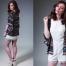Leopard Print Silk Kimono Brown & Beige